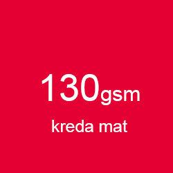 Katalog klejony A5 poziomo kreda mat 130gsm