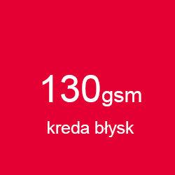 Katalog klejony A5 poziomo kreda błysk 130gsm