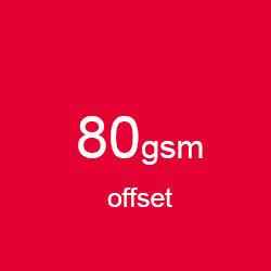 Katalog klejony A4 poziomo offset 80gsm