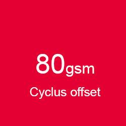 Katalog klejony A5 pionowo cyclus offset 80gsm