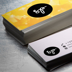 Wizytówki, biznes karty