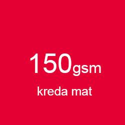 Katalog klejony A4 poziomo kreda mat 150gsm