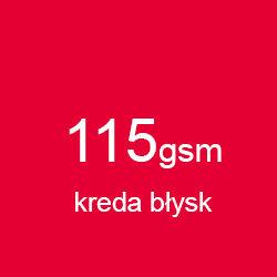 Katalog klejony A4 pionowo kreda błysk 115gsm