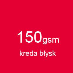 Katalog klejony A5 poziomo kreda błysk 150gsm