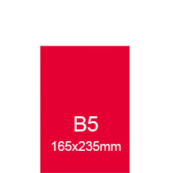 Kataloge geleimt B5 (165x235mm)
