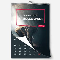 Kalender mit Wire-O-Bindung