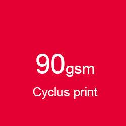 Katalog klejony A4 poziomo cyclus print 90gsm
