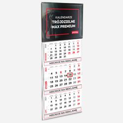 Dreiteilige Kalender MAX premium