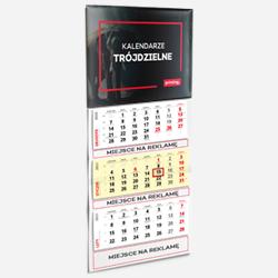 Dreiteilige Kalender