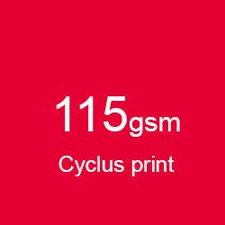 Katalog klejony A4 pionowo cyclus print 115gsm