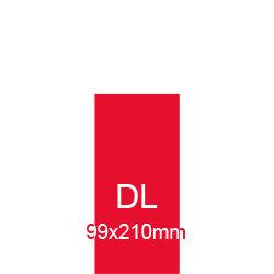 Broschüren DL (99x210mm) hoch