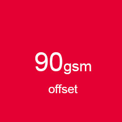 Katalog klejony A5 poziomo offset 90gsm
