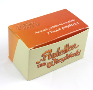 Pudełka na wizytówki