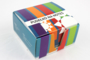 Boxen mit Schreibblock